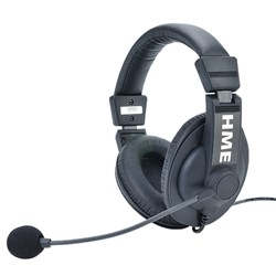 81d227350c5 HME DX Single Muff Headset Noise Cancelling; Electret Mic with Mini DIN  connector