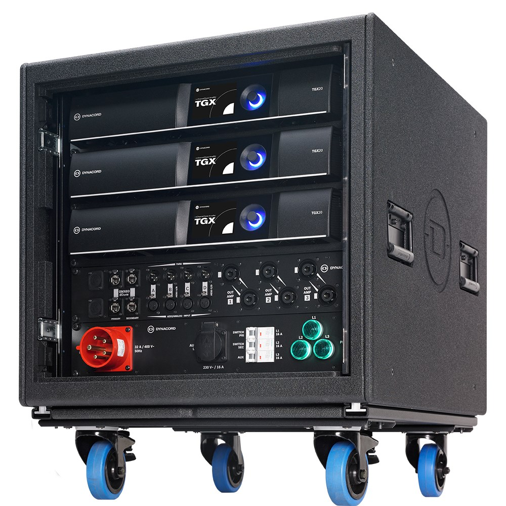Tour Grade IP Amplifiers