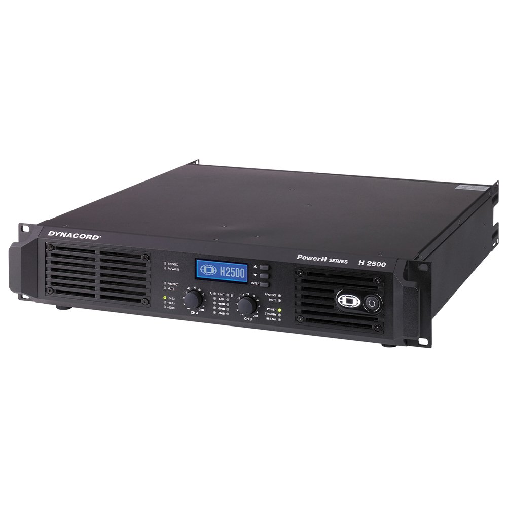 PowerH Series Amplifiers