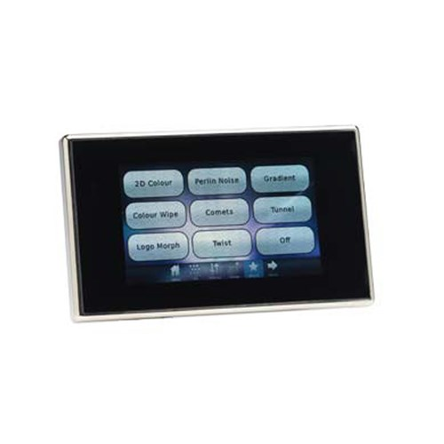 Mosaic Tessera 512 Channel Touchscreen Controller; White Bezel and Overlay