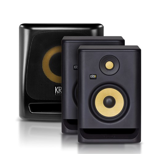 KRK ROKIT G4 RP5 with 8S2 Subwoofer Package
