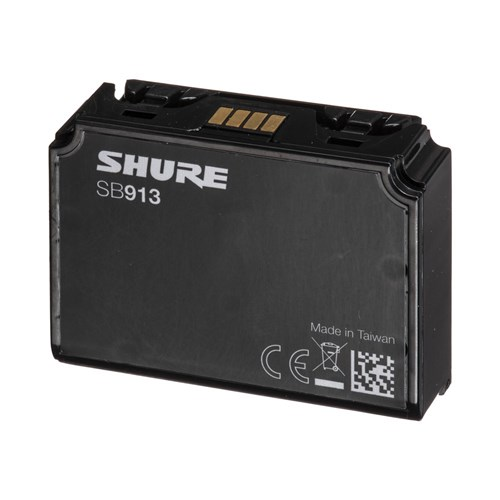 Shure SB913 for ADX1 and ADX1 LEMO Transmitters